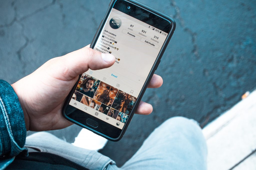 Instagram društvena mreža raw digital digitalna agencija